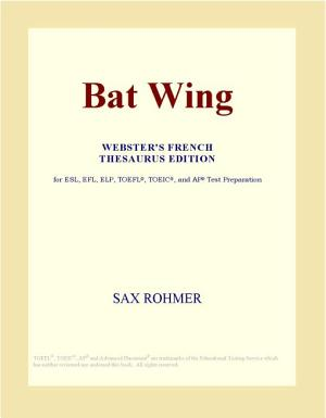 Bat Wing  Webster s French Thesaurus Edition  PDF