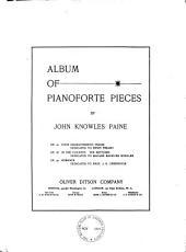 Album of pianoforte pieces
