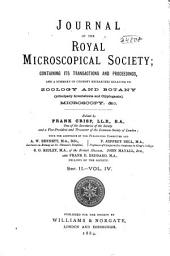 Journal of the Royal Microscopical Society: Volume 4
