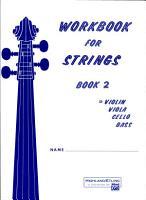 Workbook for Strings  Bk 2  Violin PDF