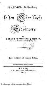 Physikalische Beschreibung der festen Oberfläche des Erdkörpers: Volume 2