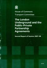 The London Underground and the public-private partnership agreements