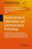 Recent Trends in Information and Communication Technology PDF