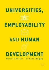 Universities, Employability and Human Development