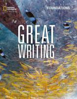 Great Writing Foundations PDF
