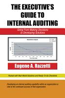 The Executive   S Guide to Internal Auditing PDF