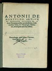 Tractatvs Astrologiae Ivdiciariae De Nativitatibus Virorvm & mulierum: Addito in fine libello Antonii de Montulmo de eadem re