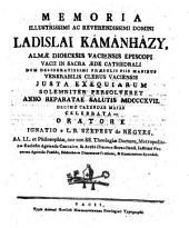 Memoria Ladislai Kamanhazy