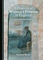 A History of Women   s Prisons in England PDF