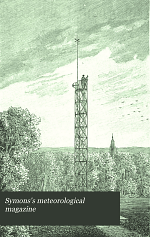 Symons's Meteorological Magazine