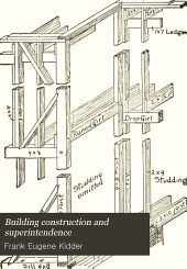 Building Construction and Superintendence: Carpenters' work