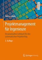 Projektmanagement f  r Ingenieure PDF