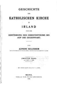 Geschichte der katholischen Kirche in Irland  Von 1509 bis 1690 PDF