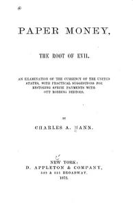 Paper Money  the Root of Evil PDF