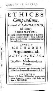 Ethices compendium