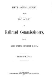 Annual Report of the Board of Railroad Commissioners, for the Year Ending ...: Issue 5