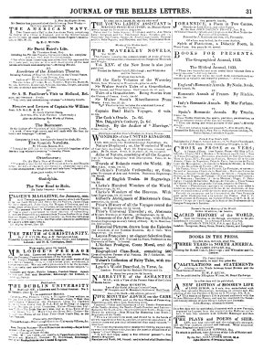 The Literary Gazette and Journal of Belles Lettres  Arts  Sciences