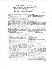 Publii Ovidii Nasonis Heroides, Amorum lib. III, Artis amatoriae libri III, Remedia amoris, Medicamina faciei, Halieutica, Epicedion Drusi Caesaris...: Volume 1