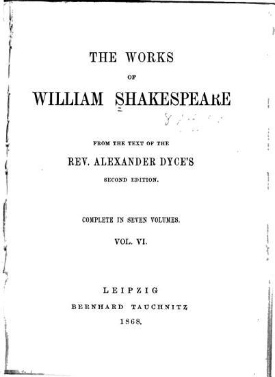 The Works of William Shakespeare  Hamlet  King Lear  Othello  Antony   Cleopatra  Cymbeline PDF