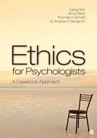 Ethics for Psychologists PDF