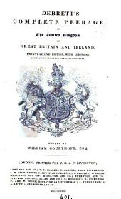 Debrett's Peerage of England, Scotland, and Ireland. [Another]