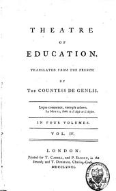 Theatre of Education: Volume 4