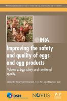 Improving the Safety and Quality of Eggs and Egg Products PDF