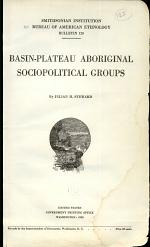 Basin-plateau Aboriginal Sociopolitical Groups