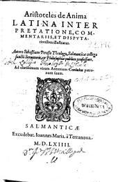 Aristoteles de Anima