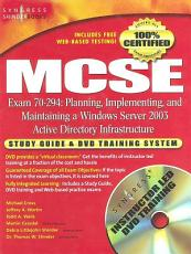 MCSE Planning  Implementing  and Maintaining a Microsoft Windows Server 2003 Active Directory Infrastructure  Exam 70 294  PDF