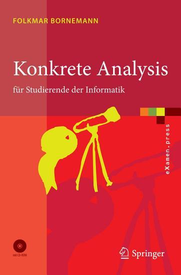 Konkrete Analysis PDF