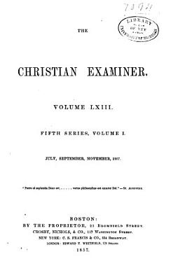 Christian Examiner PDF