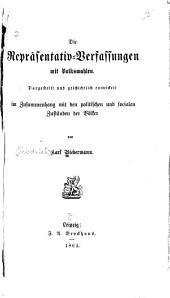 Die Repräsentativ-Verfassungen mit Volkswahlen