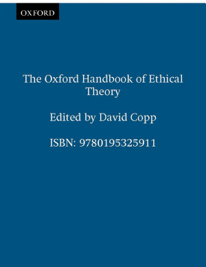The Oxford Handbook of Ethical Theory PDF