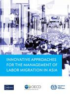 Innovative Approaches for the Management of Labor Migration in Asia PDF