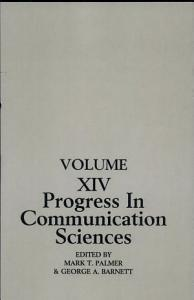 Mutual Influence in Interpersonal Communication Book