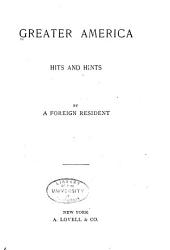Greater America: Hits and Hints