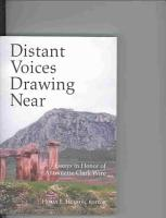 Distant Voices Drawing Near PDF