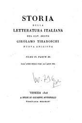 Storia della letteratura italiana del cav. abate Girolamo Tiraboschi ... Tomo 1. Parte 1. [-9.] ...: 6.1: Dall'anno 1400 fino all'anno 1500