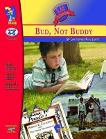 Bud  Not Buddy Lit Link Gr  4 6 PDF