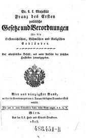 Welcher die Verordnungen vom 1. Januar bis letzten December 1816 enthält: Volume 44