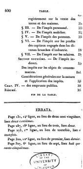 Philosophie de l'economie politique, ou Nouvelle exposition des principes de cette science: Volume4