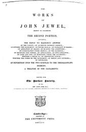 The Works of John Jewel: Volume 24