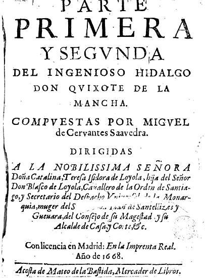 Parte primera y segunda del ingenioso hidalgo don Quixote de la Mancha PDF