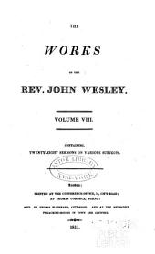The Works of the Rev. John Wesley: Volume 8