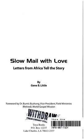 Slow Mail with Love PDF