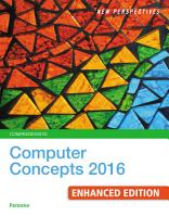 New Perspectives Computer Concepts 2016 Enhanced  Comprehensive PDF