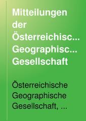 Mitteilungen der Österreichischen Geographischen Gesellschaft: Band 26