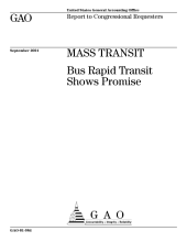 Mass transit bus rapid transit shows promise  PDF