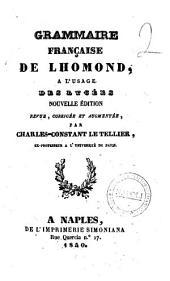 Grammaire francaise a l'usage des lycees de Lhomond